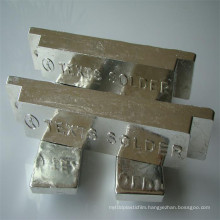 China Best Price Sn99.99% Sn99.95% Sn99.90% Tin Ingot