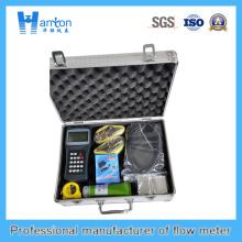 Medidor de flujo ultrasónico de mano Ht-0250