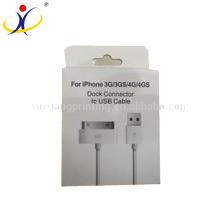 Kundengebundene Größe! Fabrik-Direktverkaufs-Papierverpackungs-Kasten USB u. Daten-Draht-Kästen