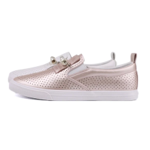 2021 small hole with elastic webbing vulcanized shoes