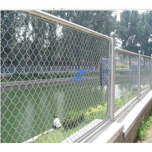 Galvanisierter vorübergehender Zaun der Kettenverbindung (TS-J223)