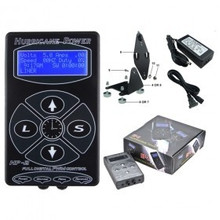2014 Hot Sale Hurricane Digital LCD Tattoo Power Supply