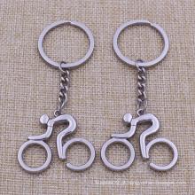 Mini presentes baratos feitos sob encomenda Metal a bicicleta Keychain para a venda