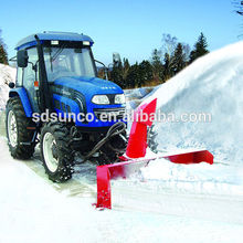 front 3-point hitch tractor snow thrower machine