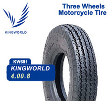8-400 400-12 500-12 três pneus rodas