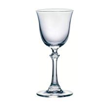 Canette de verre à vin en cristal sans plomb de 210 ml