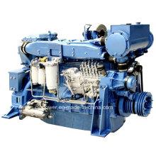 Судовой двигатель серии WD12, 240-294 кВт, Weichai