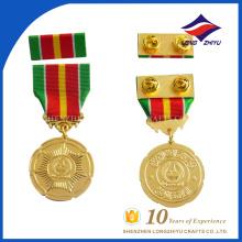 Barra personalizada de la medalla del chapado en oro de la promoción para el recuerdo