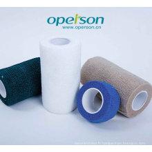 Bandage autocollant avec certificat Ce et ISO