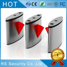 100% Original for Stainless Steel Fare Gate Automatic Turnstile Speed Gate Flap Barrier export to Italy Manufacturer