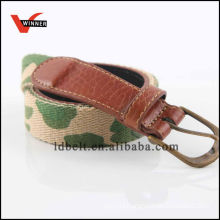 High quality military cotton man belt
