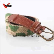 Cinturão de tecido de lona de estilo militar popular