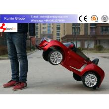 Carro elétrico claro de 12V para o carro das crianças com a luz do diodo emissor de luz a pilhas