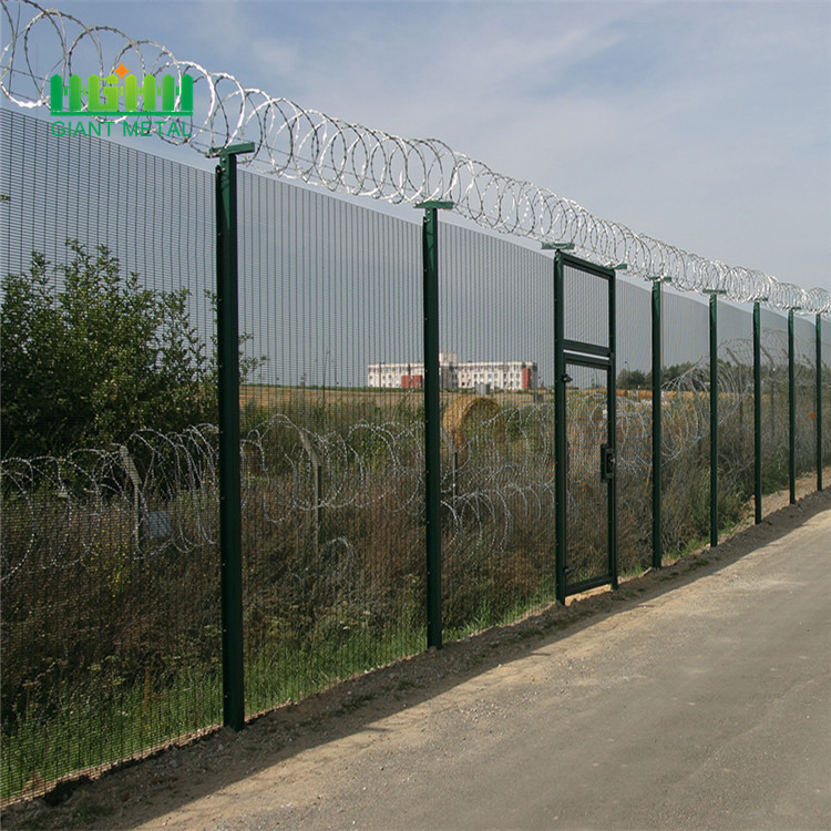Anti climb fence specifications