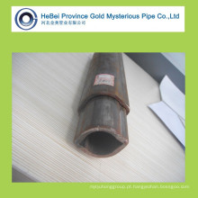 Tubo e tubo de aço sem costura triangular de carbono