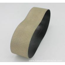 Discount Price Pet Film for Best Diamond Abrasive Flexible Belt, Flexible Diamond Abrasive Sanding Belt Manufacturer in China Flexible Diamond Glass Sanding Belt export to China Hong Kong Importers