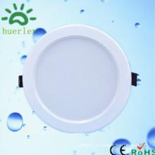 Luz de techo fina blanca de la alta calidad caliente de la venta 100-240v 4 pulgadas smd5730 cubierta llevada 9w del downlight