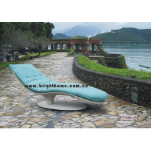 Especial design Sun Bed Lounge Wicker Móveis Rattan exterior