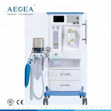 АГ-AM001 хирургического О2 NO2 в газовой больницы icu медицинского оборудования лаборатории медико-стоматологический наркозный аппарат вапоризатор цена поставщика