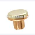 Contactos eléctricos de cobre plata