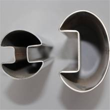 Stainless Steel Pipe Oval Single Slot Tube