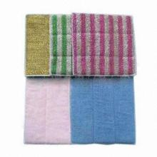 Cleaning Cloth, Made of Nonwoven, Various Colors/Sizes Available, Customized Orders Welcomed