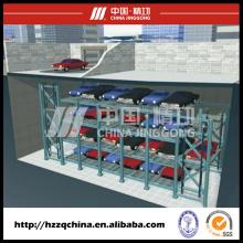 Estacionamento automatizado profissional do elevador do carro com sistema giratório de circulação