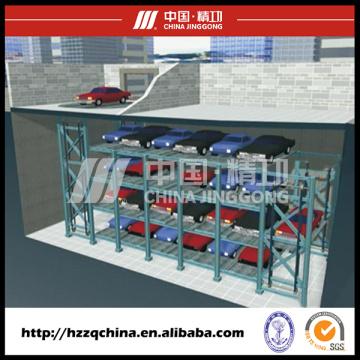 Estacionamiento de elevador de automóvil automatizado profesional con sistema rotatorio circulante