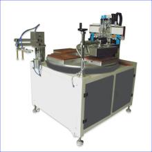 Lineal Siebdruckmaschine, Converyor Style mit Entlastungsroboter und Trockner