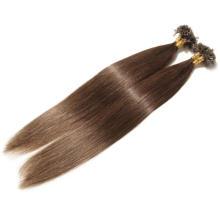 Virgin Hair Keratin U Tip Ponytail Hair Extension Human Hair Russian/Mongolian Remy Hair