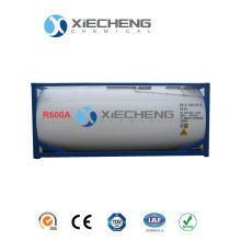 High purity isobutane R600A for Iso tank