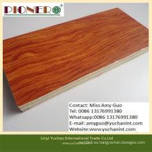 Tabla de núcleo de madera sólida del precio competitivo para la puerta de China