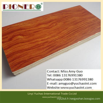 Conseil de noyau en bois solide de prix concurrentiel pour la porte de la Chine