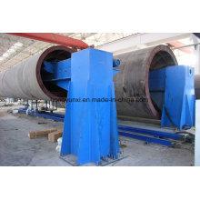 Bobineuse horizontale de réservoir de FRP ou navire
