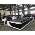 CNC fiber laser cutting machine with laser generator