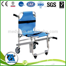Adjustable stair lift chair, ambulance stretcher trolley