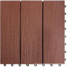 Interlocking Deck Tile / Wood Plastic Composite