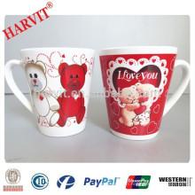 China Wholesale Bulk Promotionnelle en céramique Couple Mug