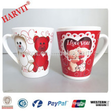 China Supplier Bulk Promotional Ceramic Couple Mug