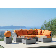 Balkonmöbel-Set Rattan-Gartensofa