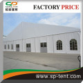 large boat warehouse storage tent 30x30m with glass door