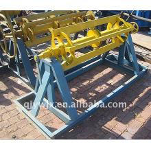 forward 6 ton PPGI/GI manual uncoiler machine