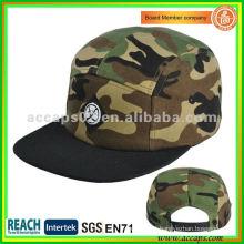 Chapéu de snapback de boné de aba plana SN-0038