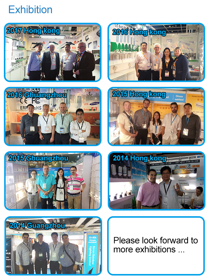 exhibition of LED G12 light