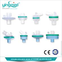 Filtre de bactéries jetable médical Filtre HME