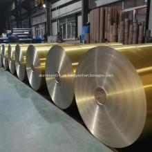 Bobina de aluminio con revestimiento hidrófilo de aire acondicionado