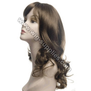 Cheap 100% Indian Remy Hair supper wave Ladies Full Lace Wig
