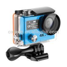Cámara de acción de las ventas al por mayor 4k / 30fps Ambarella A12 wifi a prueba de agua mini cámara de deportes H8r pro