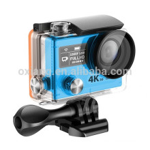 Wholesales action camera 4k/30fps Ambarella A12 remote control waterproof wifi mini sports camera H8r pro