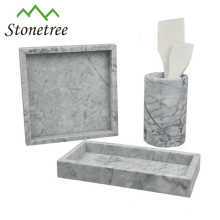 100% Natural Stone Storage Tray Marble Stone Table Tray